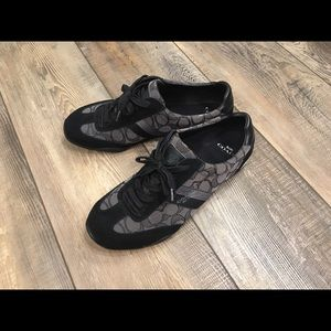 Coach black Kelson sneakers